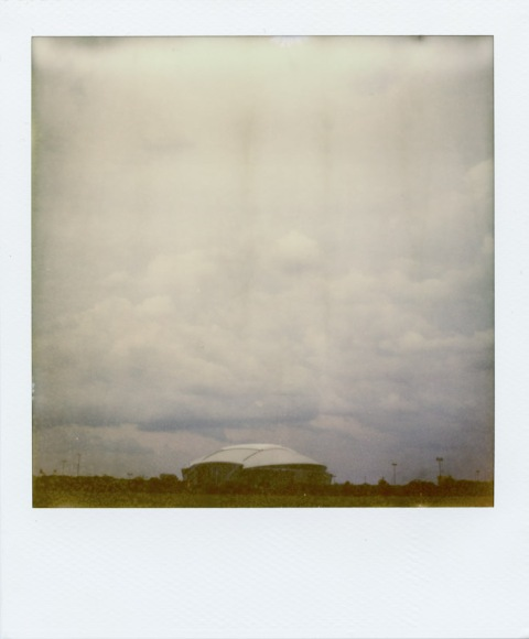 Cowboys Stadium - Polaroid Sonar SX-70 - PX-70 Cool