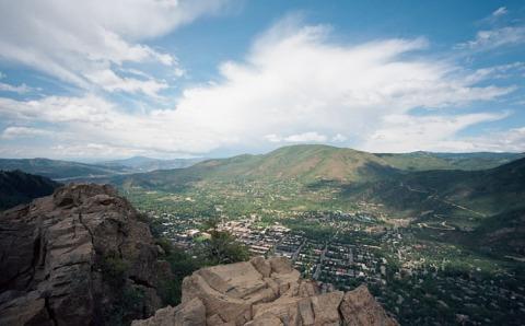 Top of the Yute Trail - Aspen, CO - Leica M2 - 15mm Voigtlander - Ektar 100