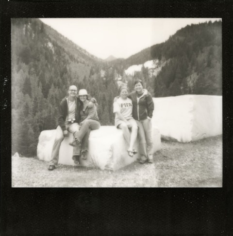 Photo: Synthia Goode - Marble, CO - Spectra SE - Impossible Project Black Frame PZ600
