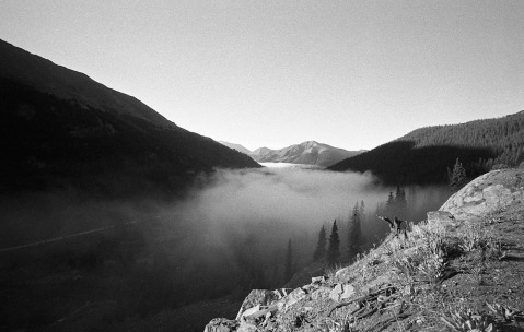Independence Pass - Leica M2 - Voigtlander 15mm - HP5 Plus - Rodinal