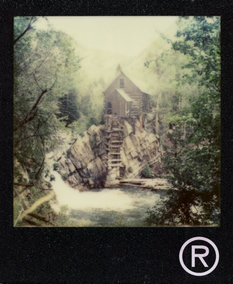 Crystal Mill - Colorado - Impossible Project PX-70 NIGO Edition