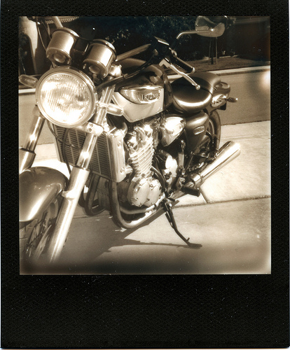 Photo: Patrick Clarke - Polaroid One 600 - Impossible Project PZ600