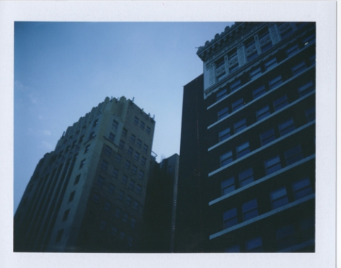 Photo: Amy Hirsch - Polaroid 250 - Fuji FP-100C