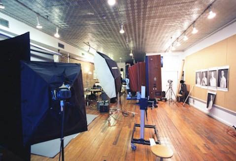 A peak inside 20x24 Studio - Leica M2 - 15mm Voigtlander - Kodak Ektar