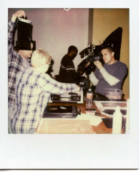 Photo: Richard Kacprowski - Polaroid SLR 680 - Impossible Project PX-680 CP