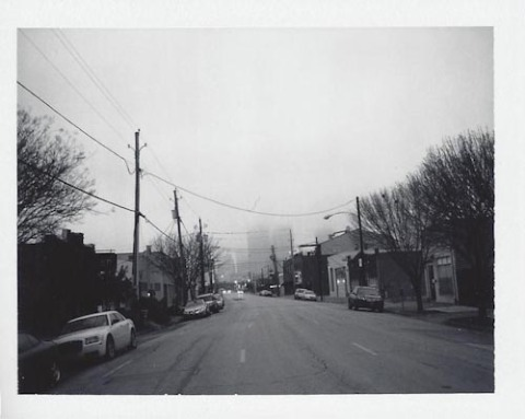Photo: Scott Mitchell - Polaroid 180 - Fuji FP-3000B